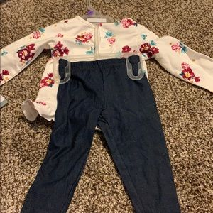 Carter's 12 month old long sleeve and pants combo